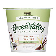 Green Valley Creamery Organic Low Fat Lactose Free Vanilla Yogurt