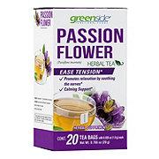 Greenside Passion Flower Herbal Tea Bags