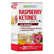 Greenside Raspberry Ketones Herbal Tea Shop Tea At H E B