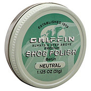 Griffin Shoe Polish Paste Wax Neutral