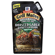 Grillmates Steakhouse Burgers Roasted Garlic & Onion Grillmates Steakhouse Burgers Roasted Garlic & Onion