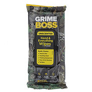 Grime Boss Real Tree Wipes