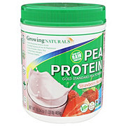 Growing Naturals Pea Protein Strawberry Burst