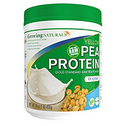Growing Naturals Yellow Pea Protein Powder, Original