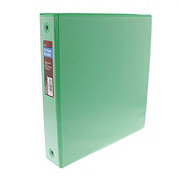 GTC 1.5 Inch View Binder, Assorted Colors