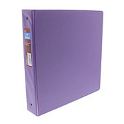 GTC 1.5 Inch Vinyl Binder, Assorted Colors