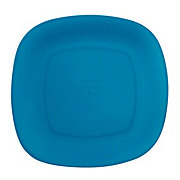 GTC 10 In. Square Dinner Plate Blue