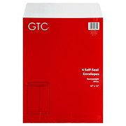 GTC 10x13 In Self-Seal Heavyweight White Envelopes