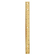 GTC 12 Inch Wooden Ruler
