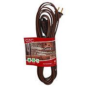GTC 15 FT Brown Indoor Extension Cord