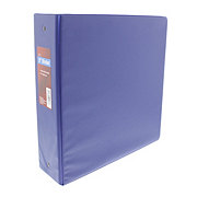 GTC 3 Inch Vinyl Binder, Assorted Colors