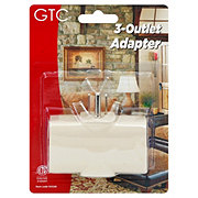 GTC 3 Outlet Wall Tap Molded Adapter