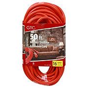 GTC 50 ft. Good Choice Power Cord, Indoor/Outdoor