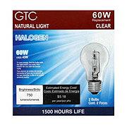 GTC 60 Watt Halogen Clear Light Bulbs