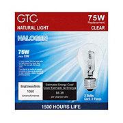 GTC 75 Watt Halogen Clear Light Bulbs