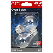 GTC A15 60W Oven Bulb Clear