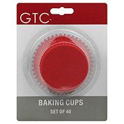 GTC Baking Cups Primary, Texas Size