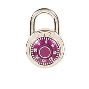 GTC Combination Color Pad Lock, Purple