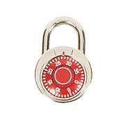 GTC Combination Color Pad Lock, Red