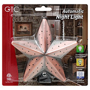 GTC Fashion Auto Night Light Tin Star