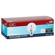 GTC G25 43W Halo Clear White Medium Base Bulb