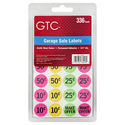 GTC GTC Garage Sale Sign Preprinted