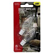 GTC LED Bright White Night Light Bulbs