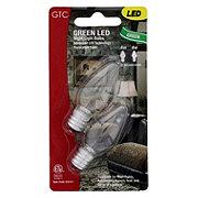 GTC LED Green Night Light Bulbs