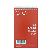 GTC Memo Book 3x5 in