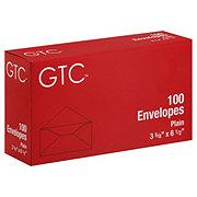 GTC Plain Envelopes 3 5/8 x 6 1/2 Inch