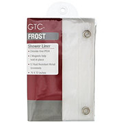 gtc shower liner frosted