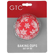 GTC Snowflake Baking Cups