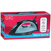 GTC Spray & Steam Burst Iron