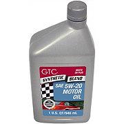 GTC Synthetic Blend SAE 5W-20 Motor Oil