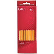 GTC Wood Yellow Barrel No. 2 Lead Pencils