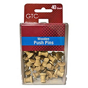 GTC Wooden Push Pins