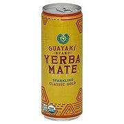 Guayaki Organic Classic Gold Sparkling Yerba Mate Tea