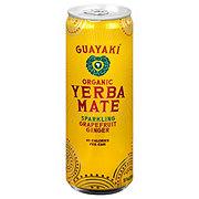 Guayaki Sparkling Yerba Mate Grapefruit Ginger