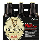 Guinness Extra Stout Beer 11.2 oz Bottles