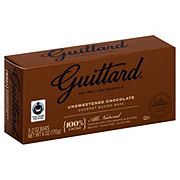 Guittard 100% Cacao Unsweetened Chocolate Baking Bars