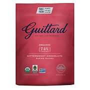 Guittard 74% Cacao Organic Bittersweet Chocolate Baking Wafers