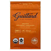 Guittard Organic 66% Cacao Semisweet Chocolate Baking Wafers