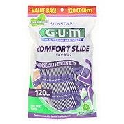 GUM Comfort Slide Flossers Fresh Mint