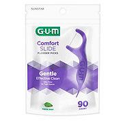 GUM Eez-Thru Comfort Slide Flossers