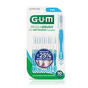 GUM Proxabrush Go-Betweens Wide Cleaners