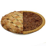 H-E-B 1/2 Pecan 1/2 Apple Pie
