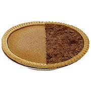 H-E-B 1/2 Pecan 1/2 Pumpkin Pie