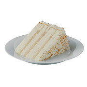 H-E-B 10 in Toasted Coconut Cake