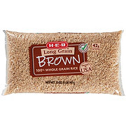 H-E-B 100% Whole Grain Brown Rice
