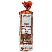 H-E-B 100% Whole Wheat Bread